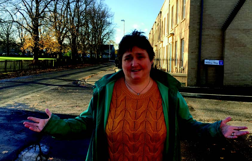 Christine Whelan looking for affordable housing