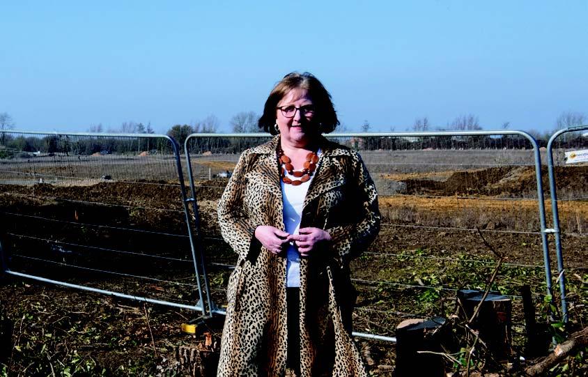 Lorna Dupre at development site