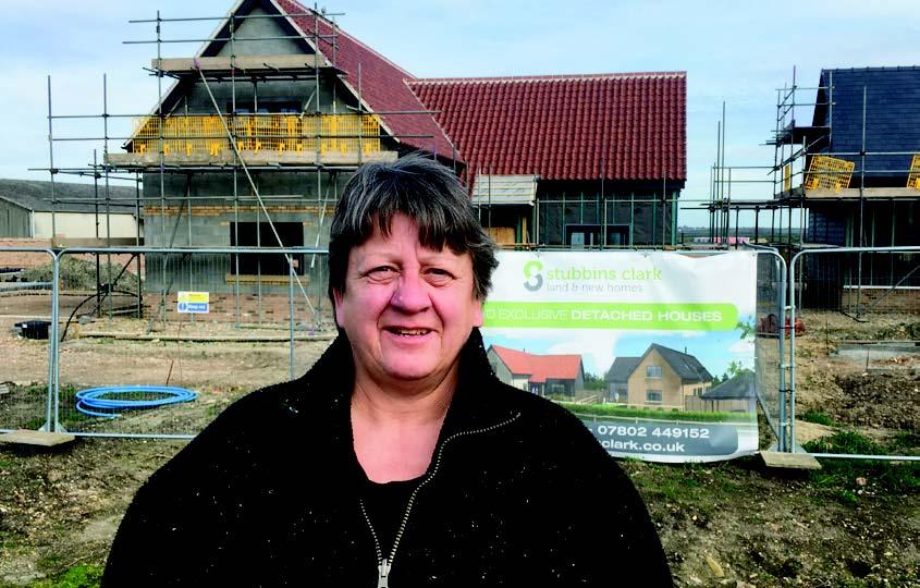 Doris Brenke looking for affordable homes
