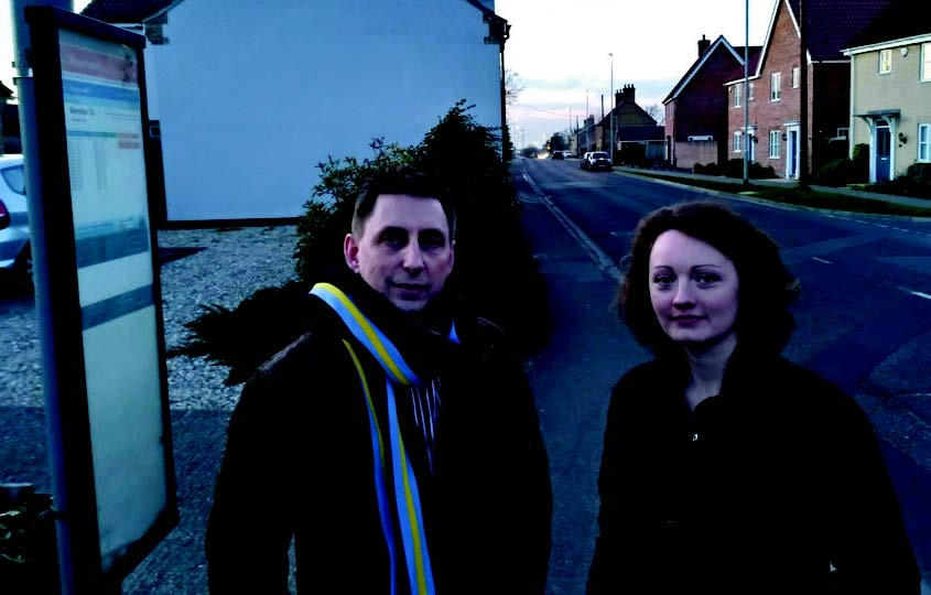 Victoria Charlewsorth and Alec Jones