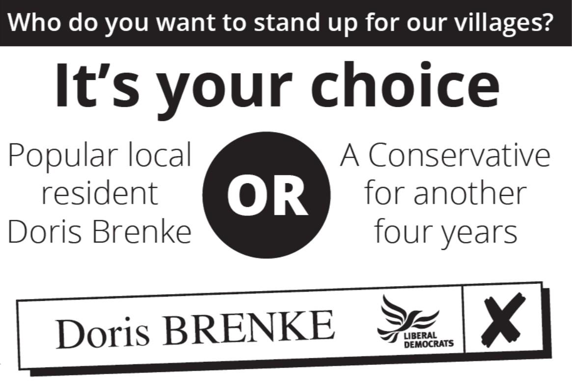 Vote Doris Brenke on May 2nd 2019