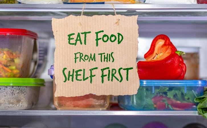 Use first notice in fridge