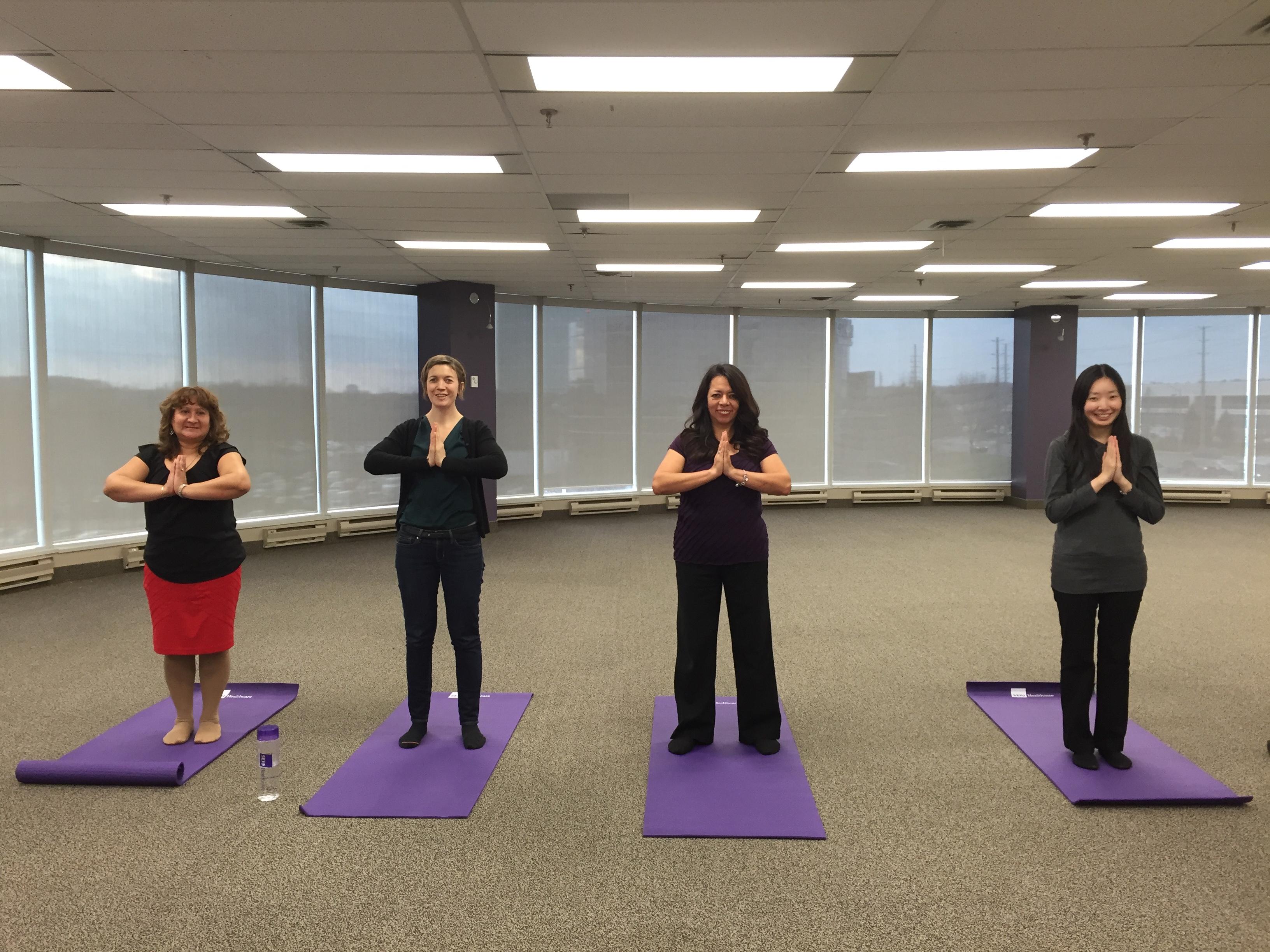 Yoga at SEIU Healthcare