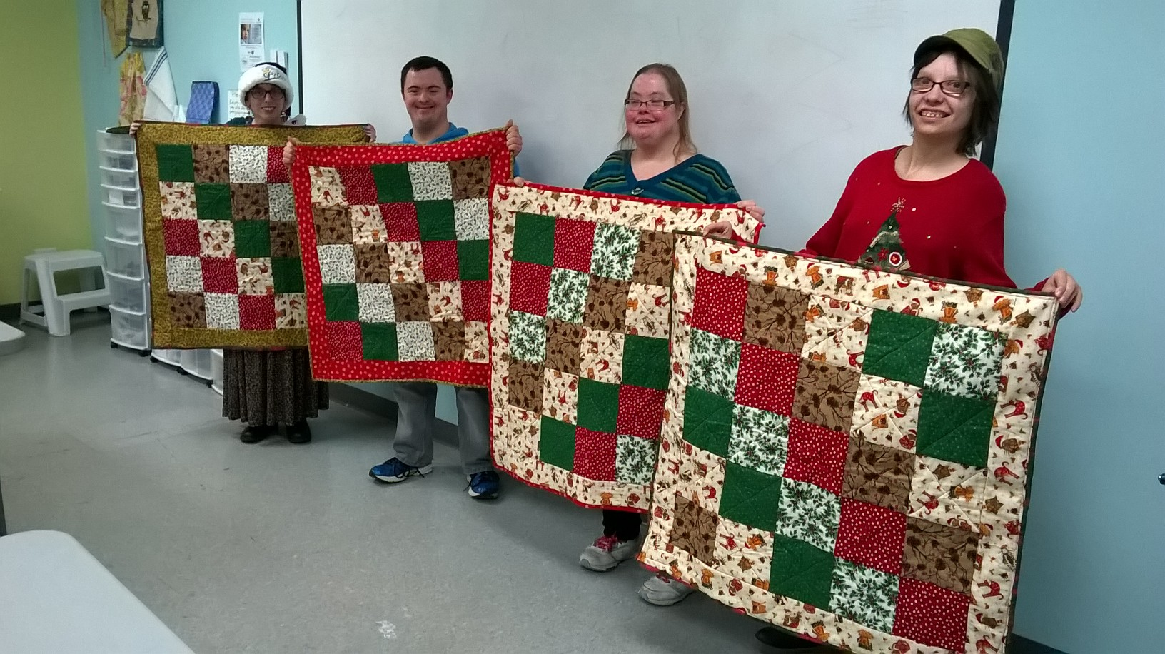The power of quilting