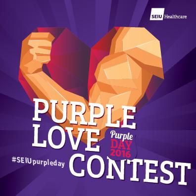 Purple love contest