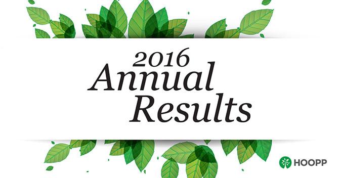 HOOPP 2016 Annual Report