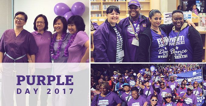 SEIU Healthcare 2017 Purple Day