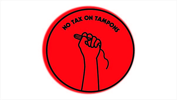 No tax on tampons!
