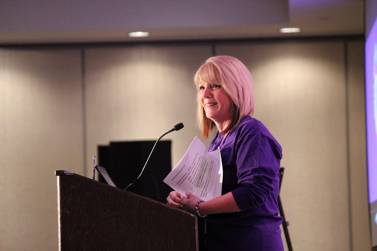 Sharleen Stewart, President of SEIU Healthcare