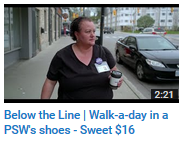 Below the Line | Walk-a-day in a PSW's shoes - Sweet $16