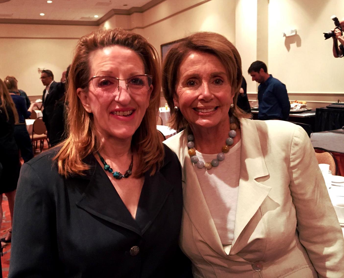 SFTWA Carol-O with Nanacy Pelosi