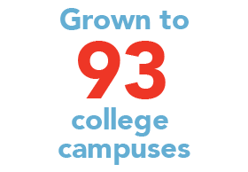 SFER's on 93 Campuses