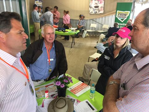 Philip Donato with NSW Farmers