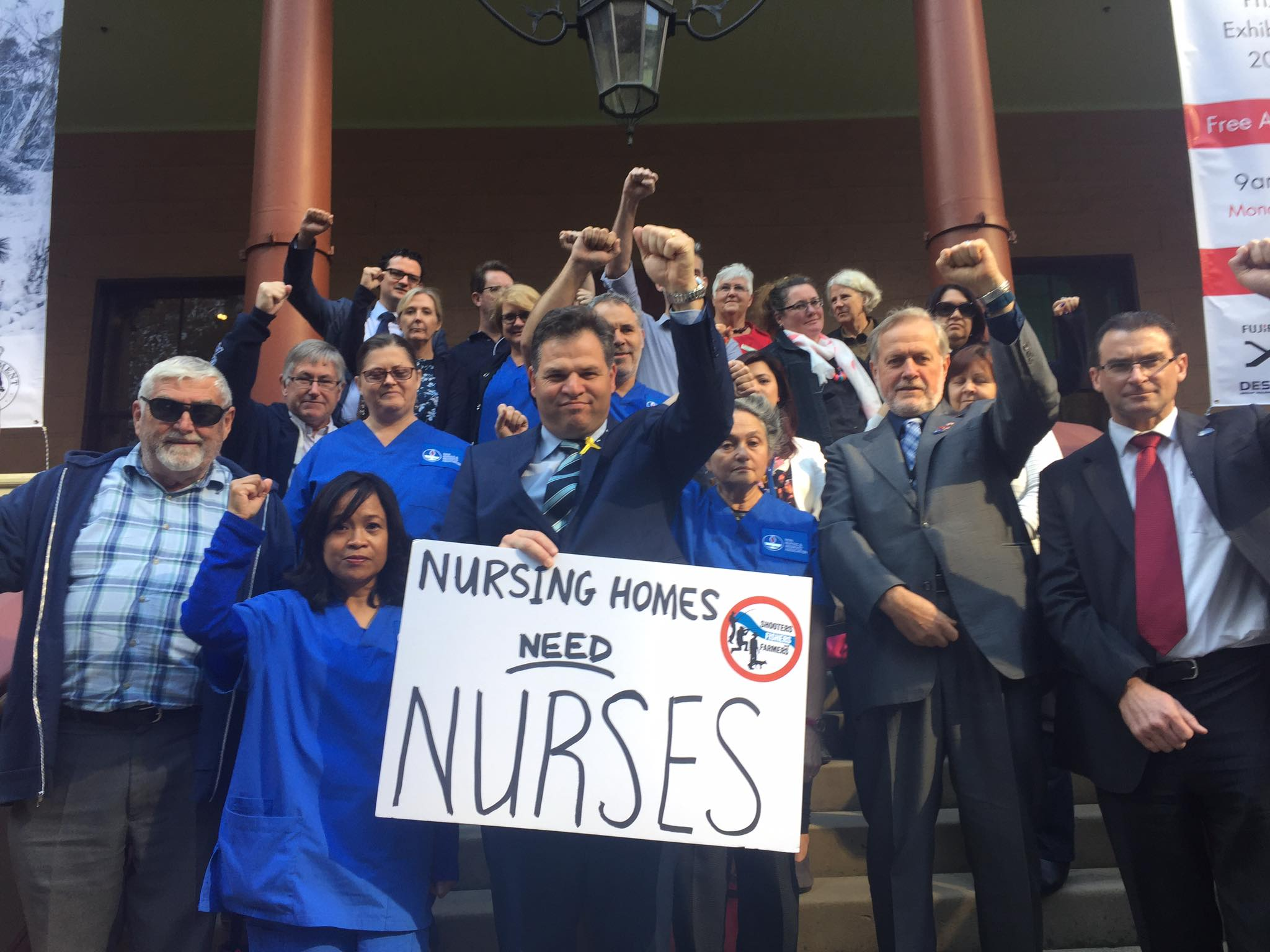 Keep nurses in nursing homes