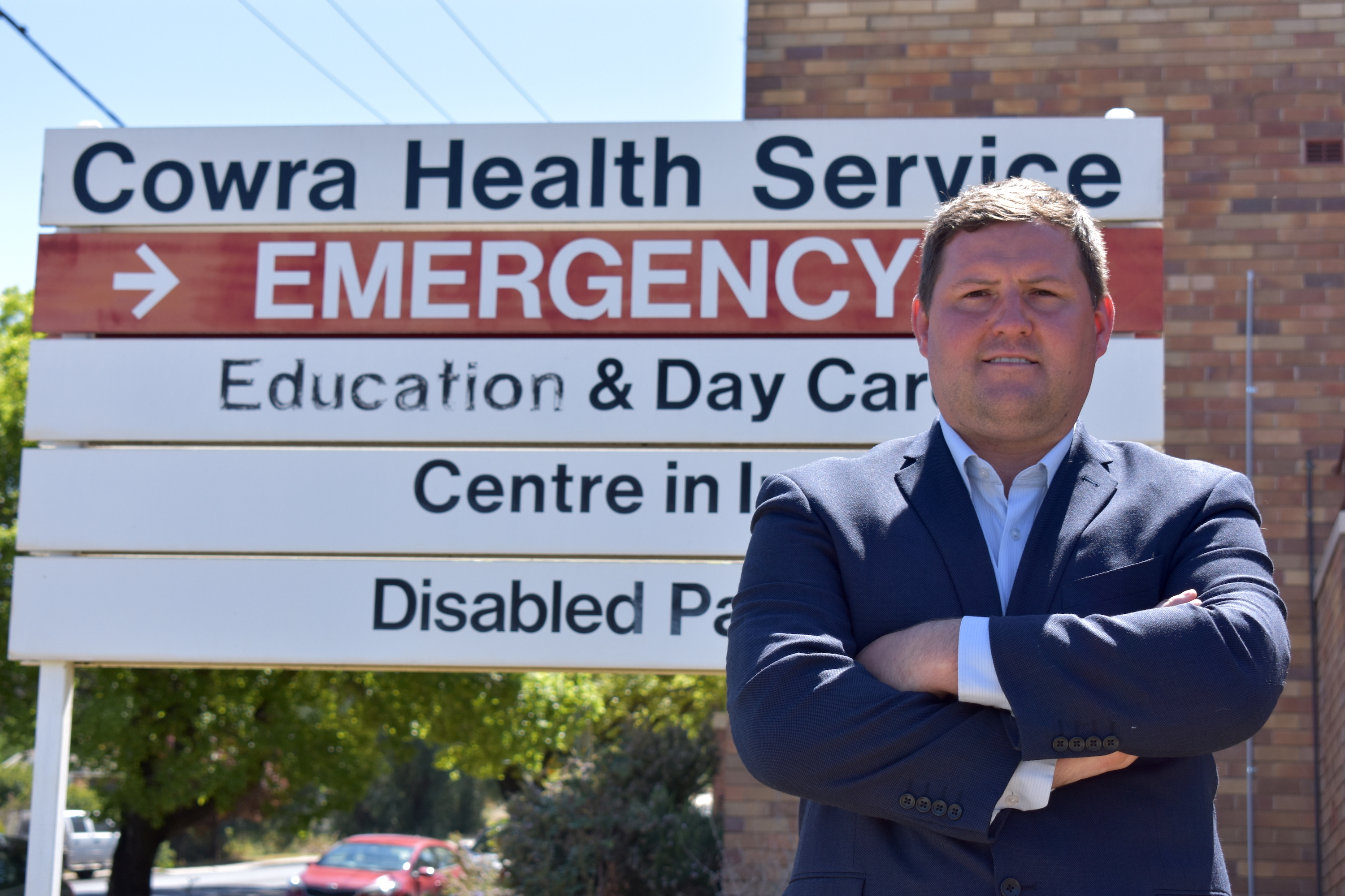 Matthew Stadtmiller at Cowra Hospital