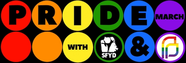 SFYD Joins PP for SF Pride Parade