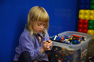 Redding Lego Wall Girl