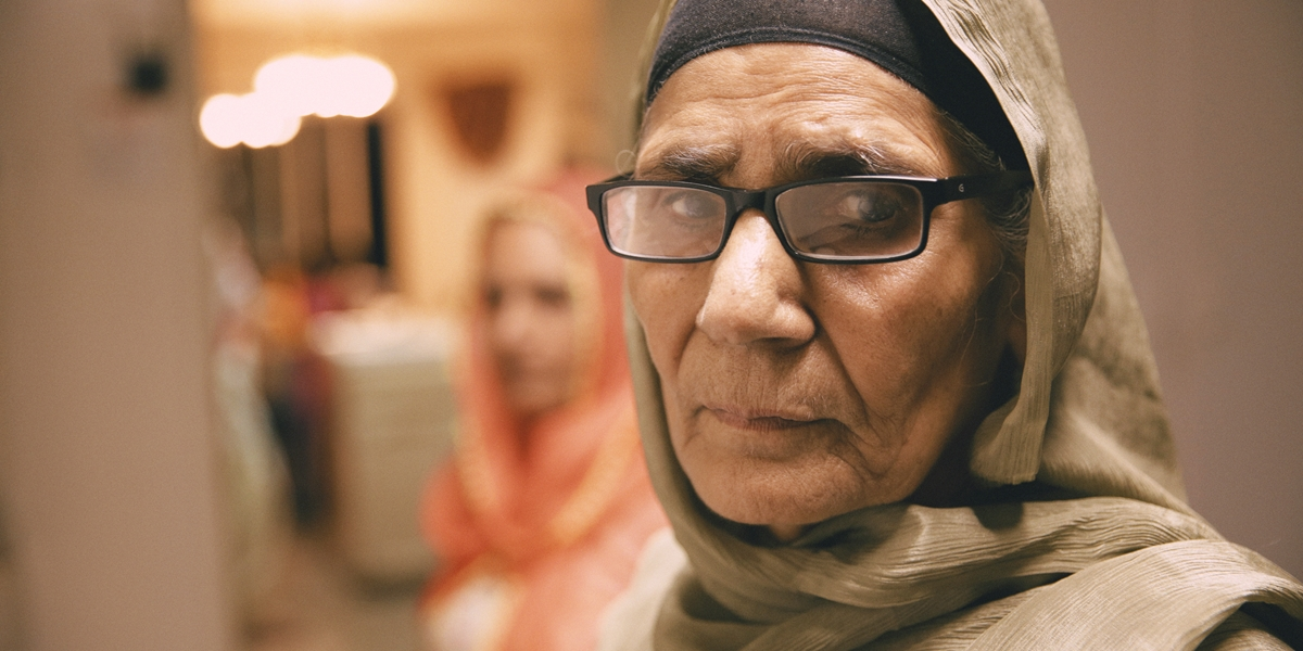 Old sikh lady nine eleven