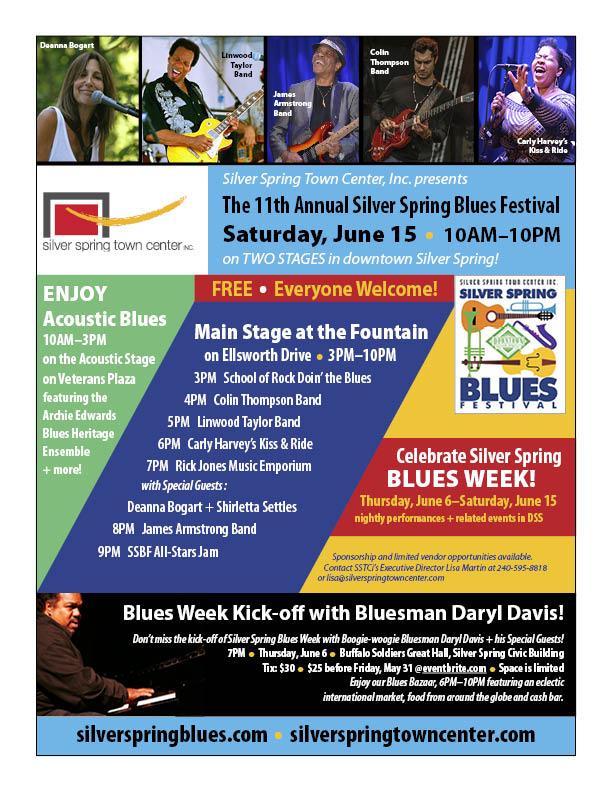2019 Blues Festival Flyer