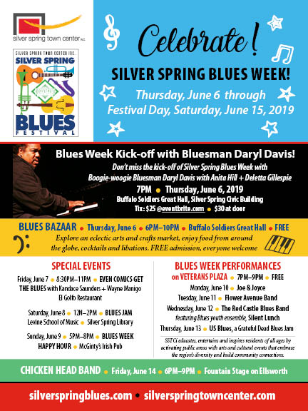 2019 Blues Festival Flyer
