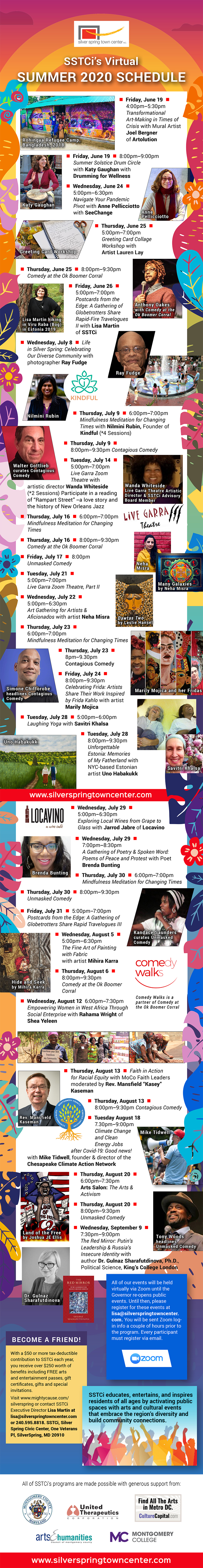 Silver Spring Town Center Summer 2020 Events