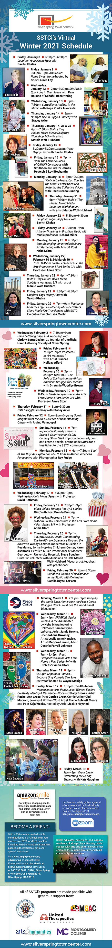 Silver Spring Town Center 2021 Winter Events