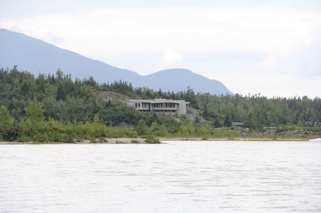 The Mendenhall Glacier visitor's center was built in 1961.  It provides excellent views of the glacier, a movie about the glacier and exhibits about the ecosystems.