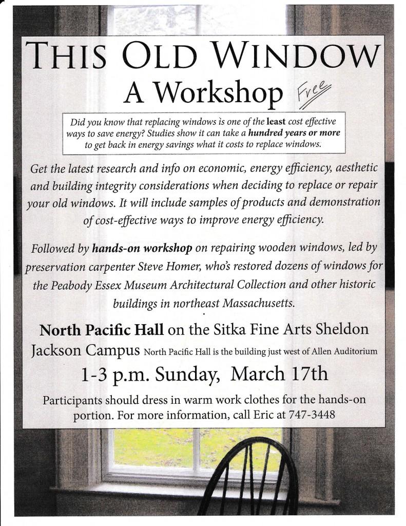 this old window workshop
