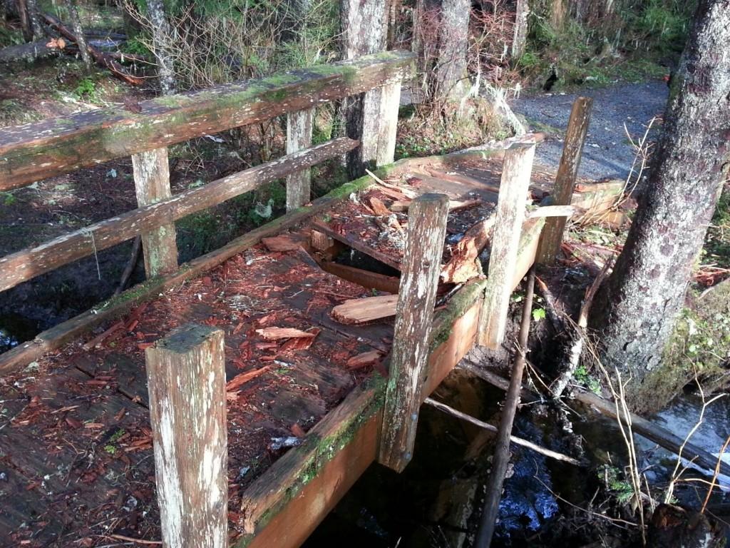 hole inn bridge KGH