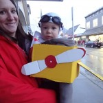 Float planes allow Sitkans to reach remote areas of the Tongass and the downtown streets of Sitka for halloween treats- thank you Fenno Greene!