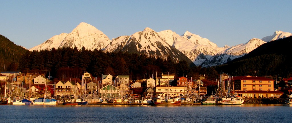 Sitka, Alaska in the heart of the Tongass National Forest