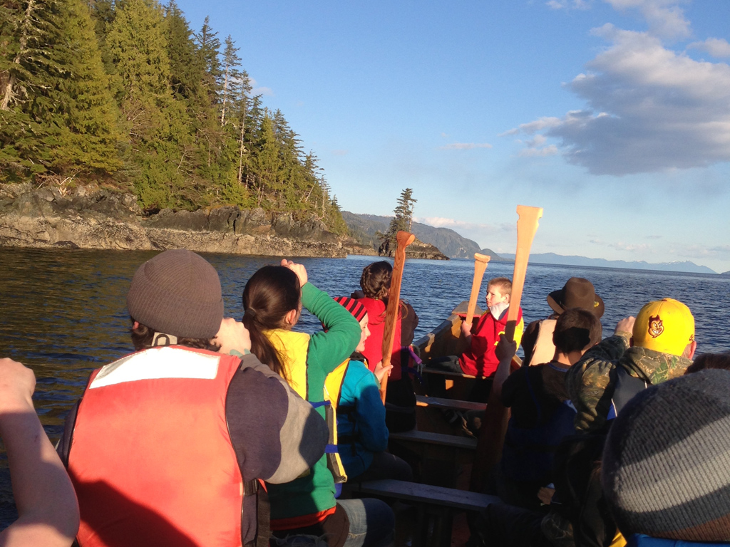 Photo for A Journey Home: Canoe Journeys in Southeast Alaska, Part 1