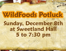 Photo for 2013 Wild Foods Potluck - Sun. Dec. 8th