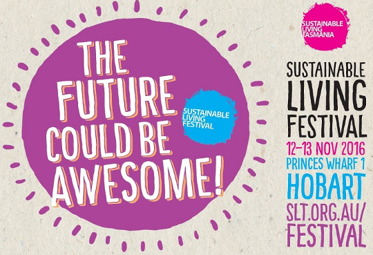 Sustainable Living Festival banner