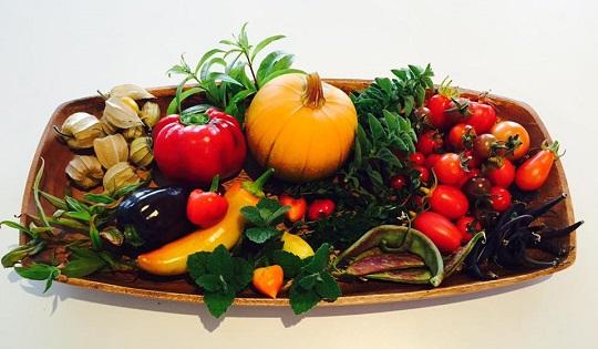 Plate of beautiful Tassie food.