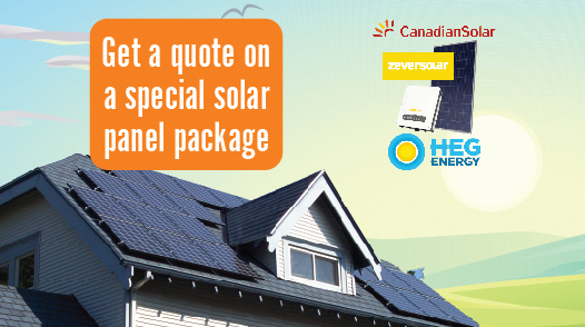 Solar panel special