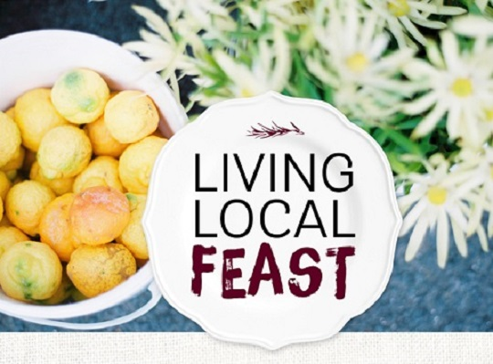 Living Local Feast logo