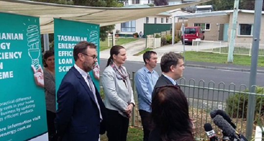 Official launch of Tasmanian Energy Efficiency Loan Scheme