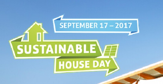 Sustainable House Day promotion.
