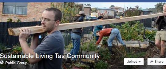 Sustainable Living Tasmania Facebook Community