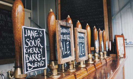 Two Metre Tall Brewery and Easter Farm Bar tour