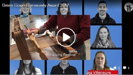 Link to website video - Green Gown Community Award 2017