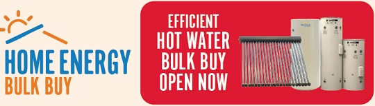 Home Energy bulk buy logo and link.