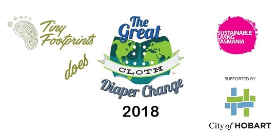 Tiny Footprints does The Great Diaper Change 2018