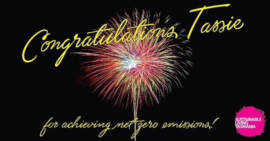 Fireworks - Congratulations Tassie