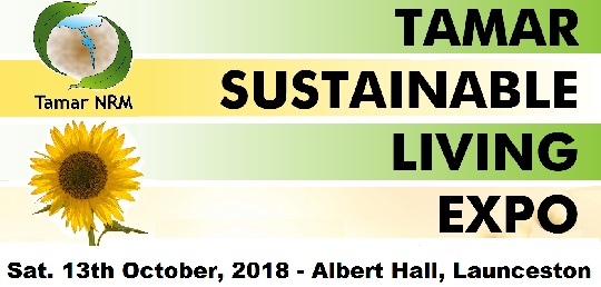 Tamar Sustainable Living Expo advertisement poster.
