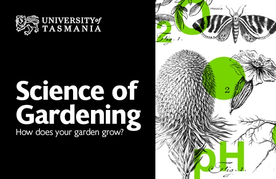 UTAS Science of Gardening logo