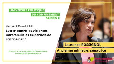 Université politique du Confinement avec Laurence Rossignol #S02E03