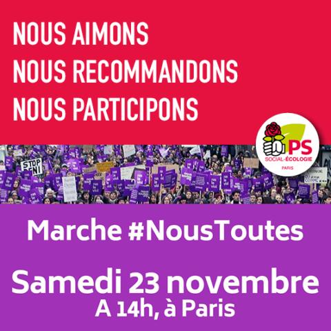 Manifestation #NousToutes