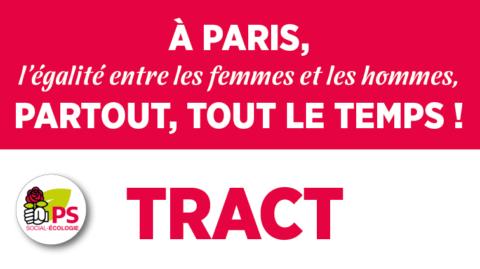 Tract parisien «8 mars»